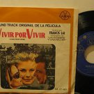 "FRANCIS LAI mexico 45 VIVIR POR VIVIR 7"" OST PICTURE SLEEVE UNITED ARTISTS"