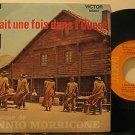 """ENNIO MORRICONE france 45 IL ETATIT UNE FOIS DANS LQUEST 7"""" OST PICTURE SLEEVE R"""