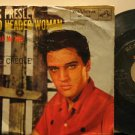 """ELVIS PRESLEY usa 45 HARD HEADED WOMAN 7"""" Rock PICTURE SLEEVE/WRITING ON COVER R"""