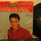 "ELVIS PRESLEY usa 45 FRANKIE AND JOHNNY 7"" Rock PICTURE SLEEVE RCA"