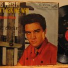 """ELVIS PRESLEY usa 45 DON'T ASK ME WHY 7"""" Rock PICTURE SLEEVE RCA"""