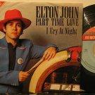 "ELTON JOHN mexico 45 PART TIME LOVE 7"" Rock PICTURE SLEEVE ROCKET"