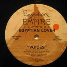 "EGYPTIAN LOVER usa 12"" VOICES/GIRLS Dj EGYPTIAN EMPIRE"
