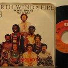 "EARTH WIND & FIRE mexico 45 DEJAME HABLAR 7"" Soul PICTURE SLEEVE CBS"