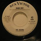 "DUANE EDDY usa 45 THE IGUANA/GUITAR STAR 7"" Rock PROMO/WHITE LABEL/SMALL WRITING"