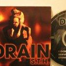 DRAIN usa CD S.T.H Rock PROMO SINGLE THE ENCLAVE excellent