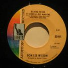 """DONNY LEE WILSON usa 45 BEHIND THESE STAINED GLASS WINDOWS 7"""" Rock PROMO/HEY THE"""