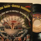 "DONNA SUMMER mexico 45 ULTIMO BAILE 7"" Pop PICTURE SLEEVE CASABLANCA"