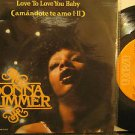 """DONNA SUMMER mexico 45 LOVE TO LOVE YOU BABY 7"""" Pop PICTURE SLEEVE RCA"""