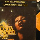 """DONNA SUMMER mexico 45 LOVE TO LOVE YOU 7"""" Pop PICTURE SLEEVE RCA"""