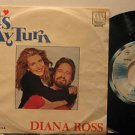 """DIANA ROSS mexico 45 IT'S MY TURN 7"""" Pop PICTURE SLEEVE MOTOWN"""