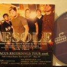 DESOLE usa CD ABACUS RECORDINGS TOUR 2006 Rock SINGLE FACEDOWN excellent