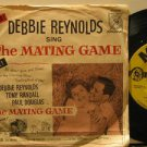"""DEBBIE REYNOLDS usa 45 THE MATING GAME 7"""" OST PICTURE SLEEVE MGM"""