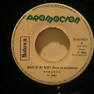 "DEBARGE peru 45 RHYTHM OF THE NIGHT/QUEEN OF MY HEART 7"" Soul PROMO/WHITE LABEL"