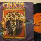"""CRUCIS bolivia 45 S/T SELF SAME UNTITLED 7"""" Rock PS/WRITING ON LABEL/ARGENTINE R"""