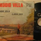 """CLAUDIO VILLA italy 45 A PIENA VOCE 7"""" Italian PICTURE SLEEVE CETRA"""