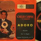 "CARLOS CAMPO mexico 45 ADORO 7"" Vocal PICTURE SLEEVE MUSART"