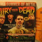 BURY YOUR DEAD/AUTUMN OFFERING/NIGHTS LIKE THESE usa CD SUMMER OF METAL Rock SAM