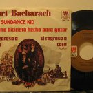 "BURT BACHARACH mexico 45 THE SUNDANCE KID 7"" Easy PICTURE SLEEVE AM"