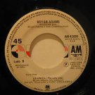 "BRYAN ADAMS mexico 45 ES SOLO AMOR/LA UNICA 7"" Rock SPANISH PRINT AM"