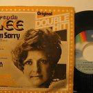 """BRENDA LEE mexico 45 I'M SORRY 7"""" Rock PICTURE SLEEVE MCA"""