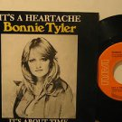 "BONNIE TYLER mexico 45 IT'S A HEARTACHE 7"" Rock PICTURE SLEEVE RCA"