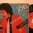 "BILLY JOEL mexico 45 IT'S STILL ROCK AND ROLL TO ME 7"" PICTURE SLEEVE CBS"