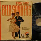 """BELA SANDERS germany 45 TANZ MIT 7"""" Easy PICTURE SLEEVE PHILIPS"""