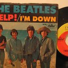 """BEATLES usa 45 HELP 7"""" Rock PICTURE SLEEVE/RING WEAR CAPITOL"""