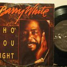 """BARRY WHITE bolivia 45 SHO' YOU RIGHT 7"""" Soul PICTURE SLEEVE AM"""