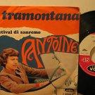 "ANTOINE italy 45 LA TRAMONTANA 7"" French PICTURE SLEEVE VOGUE"