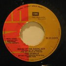 """ANIMALS peru 45 HOUSE OF THE RISING SUN 7"""" Rock LABEL IN SPANISH TOO/DON'T LET M"""