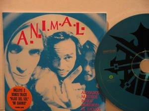 ANIMAL argentina CD ACOSADOS NUESTROS INDIOS MURIERON Rock ARGENTINE ROCK WARNER