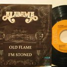 """ALABAMA mexico 45 OLD FLAME 7"""" Country PICTURE SLEEVE RCA"""