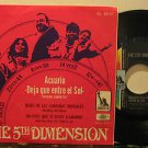 """5TH DIMENSION mexico 45 ACUARIO 7"""" Rock PICTURE SLEEVE MUSART"""