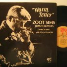 ZOOT SIMS usa LP WARM TENOR Jazz PABLO