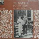 YEHUDI MENUHIN usa LP ELGAR VIOLIN CONCERTO Classical EMI excellent