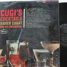 XAVIER CUGAT latin america LP CUGI'S COCKTAIL MERCURY
