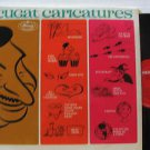 XAVIER CUGAT latin america LP CARICATURES MERCURY