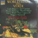 WORLD STARS usa LP SING VERDI Classical PHILIPS excellent