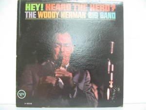 WOODY HERMAN usa LP HEY HEARD THE HERD Jazz VERVE