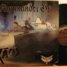 WENDY O.WILLIAMS usa LP KOMMANDER OF KAOS Rock WITH INSERT/CUT CORNER GIGASAURUS