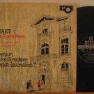 VLADIMIR ASHKENAZY u.k. LP MOZART PIANO CONCERTOS Classical STEREO DECCA SXL 635