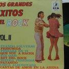 VARIOUS latin america LP LOS GRANDES EXITOS DEL ROCK VOL.II LABEL IN SPANISH TOO