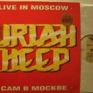 URIAH HEEP usa LP LIVE IN MOSCOW Rock FOLDOUT/WITH POSTER LLP 118 excellent