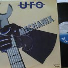 UFO latin america LP MECHANIX Rock LABEL IN SPANISH TOO CHRYSALIS