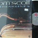 TOM SCOTT usa LP STREAMLINES Jazz GRP