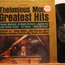 THELONIOUS MONK usa LP GREATEST HITS Jazz IN SHRINK WRAP/STEREO/BLACK LABEL RIVE