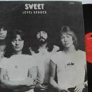 SWEET latin america LP LEVEL HEADED Rock LABEL IN SPANISH TOO POLYDOR