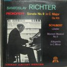 SVIATOSLAV RICHTER usa LP PROKOFIEFF SONATA N.9 Classical HALL-OF-FAME excellent